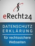 eRecht24 Datenschutzerklärung - intension GmbH