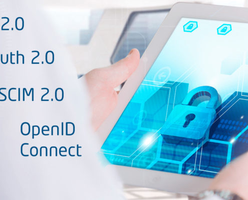 SCIM - System for Cross-domain Identity Management, SCIM 2.0, SAML 2.0, OAuth 2.0, OpenID Connect